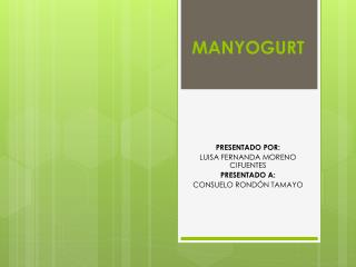 MANYOGURT