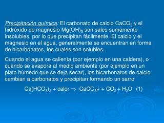 Reactor para precipitación de calcio y magnesio por el proceso cal-soda ash