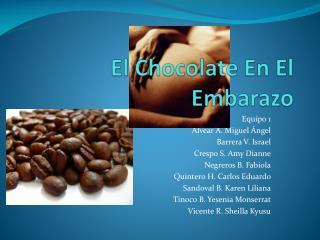 El Chocolate En El Embarazo