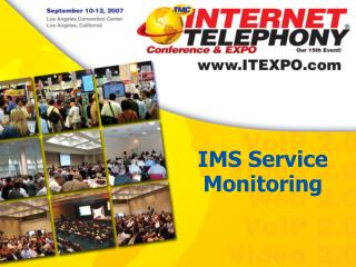 IMS Service  Monitoring