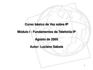 Fundamentos da Telefonia IP