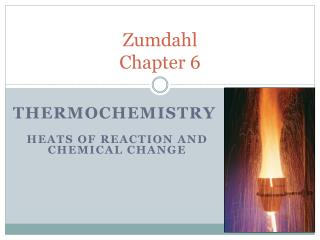 Zumdahl Chapter 6