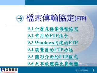檔案傳輸協定 (FTP)