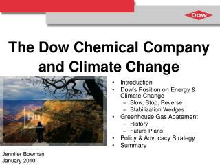 The Dow Chemical Company and Climate Change