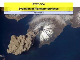 Volcanism I