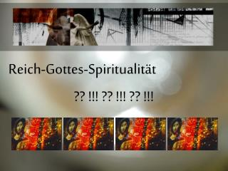 Reich-Gottes-Spiritualit t