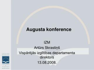 Augusta konference