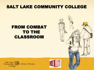 FROM COMBAT               TO THE         CLASSROOM