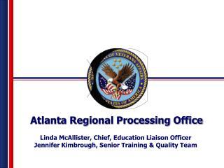 Atlanta Regional Processing Office