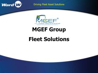 MGEF Group  Fleet Solutions