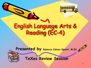 English Language Arts  Reading EC-4