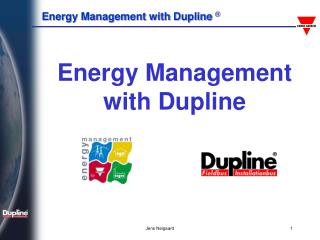 Energy Management with Dupline