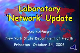 Laboratory 'Network' Update