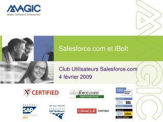 Salesforce et iBolt