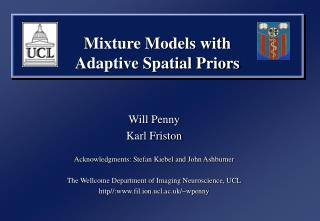 Mixture Models with  Adaptive Spatial Priors