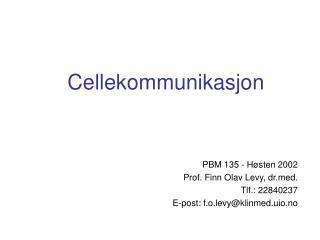 Cellekommunikasjon