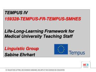 TEMPUS IV  159328-TEMPUS-FR-TEMPUS-SMHES