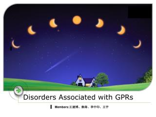 Disorders Associated with GPRs