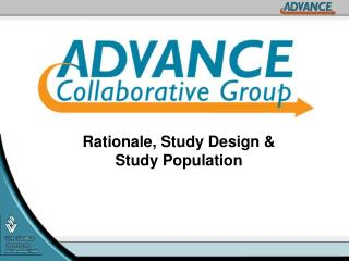 Rationale, Study Design & Study Population