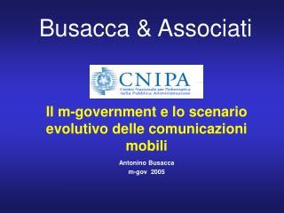 Il m-government e lo scenario evolutivo delle comunicazioni mobili
