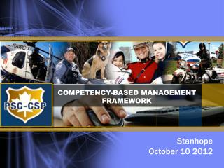 COMPETENCY-BASED MANAGEMENT FRAMEWORK
