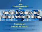 KSU College of Dentistry PDS