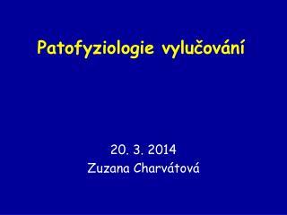 Patofyziologie vylučování