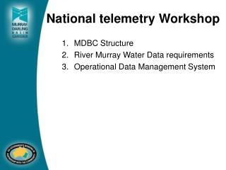 National telemetry Workshop