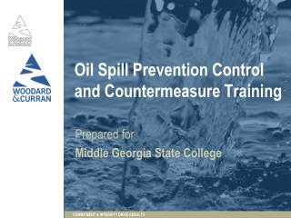 Oil Spill Prevention Control and Countermeasure Training