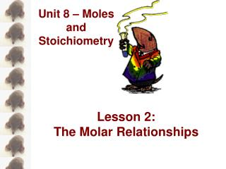 Lesson 2: The Molar Relationships