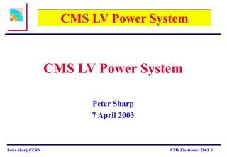 CMS LV Power System