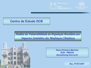 Centro de Estudo DCB