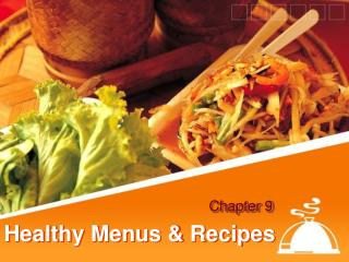 Healthy Menus & Recipes