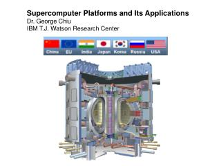 Supercomputer Platforms and Its Applications Dr. George Chiu IBM T.J. Watson Research Center