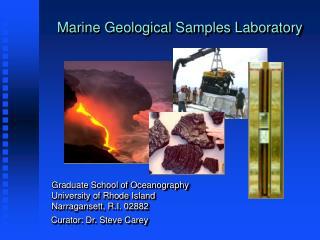 Marine Geological Samples Laboratory