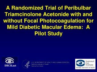 Diabetic Macular Edema (DME)