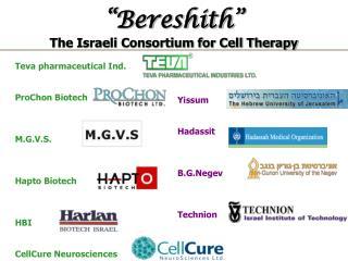 Teva pharmaceutical Ind.  ProChon Biotech M.G.V.S. Hapto Biotech HBI CellCure Neurosciences