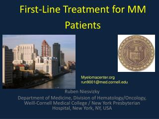 First-Line Treatment for MM Patients