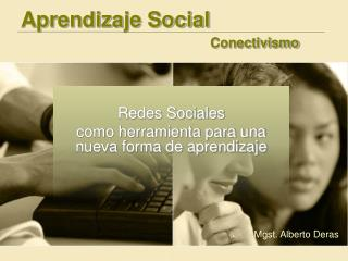 Aprendizaje Social Conectivismo