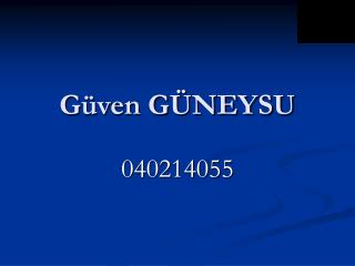 G ven G NEYSU