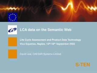 LCA data on the Semantic Web