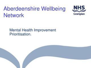 Aberdeenshire Wellbeing Network