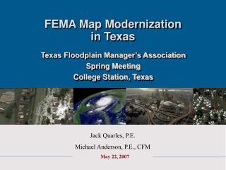 FEMA Map Modernization in Texas