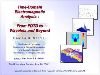 Time-Domain Electromagnetic Analysis :   From FDTD to  Wavelets and Beyond