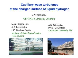 Capillary wave turbulence  at the charged surface of liquid hydrogen