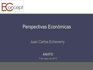 Perspectivas Económicas