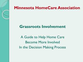 Minnesota HomeCare Association