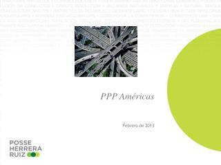 PPP Américas