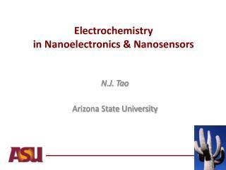 Electrochemistry  in Nanoelectronics & Nanosensors