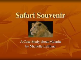 Safari Souvenir